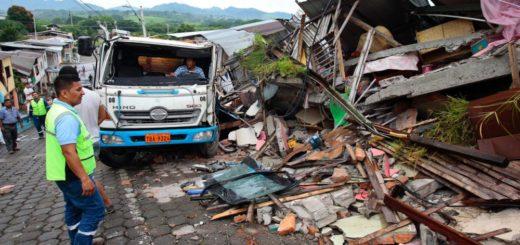 Эквадор, землетрясение, налоги