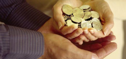 Деньги на благотворительность