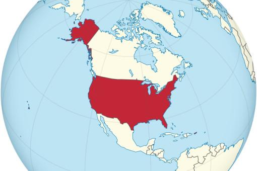 Рыночная стоимость экономик разных стран – на «глобусе США»