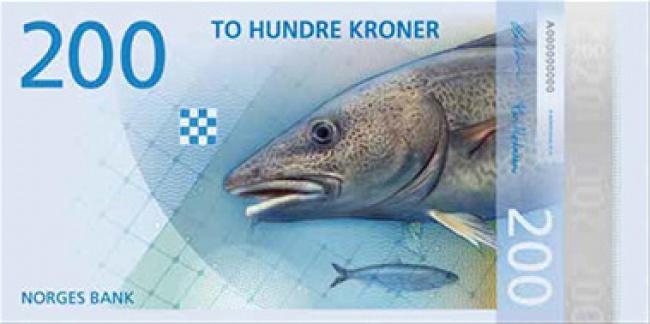 Норвежские банкноты приняли «современный» вид