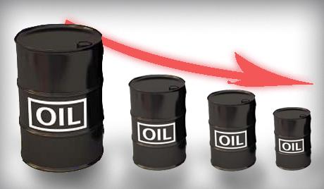 Цены на нефть достигли самой низкой отметки за последние 4 года