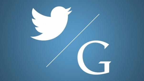 сотрудничество Google и Twitter