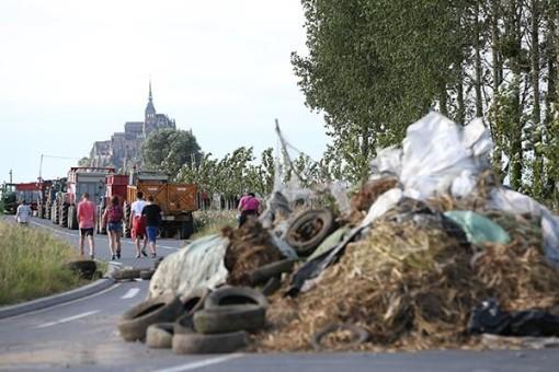 забастовки фермеров во Франции