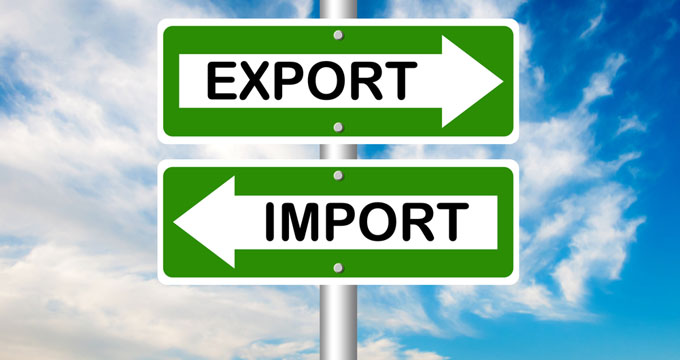 объем экспорта