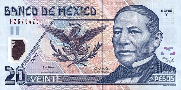 мексиканский песо, развивающиеся рынки