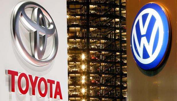 Toyota, Volkswagen, автомобили