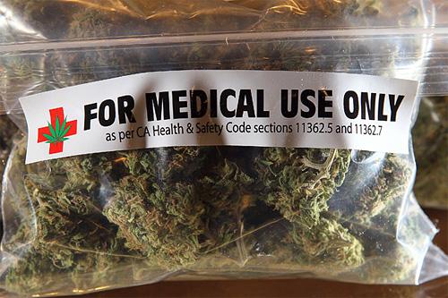 Калифорния, медицинская марихуана