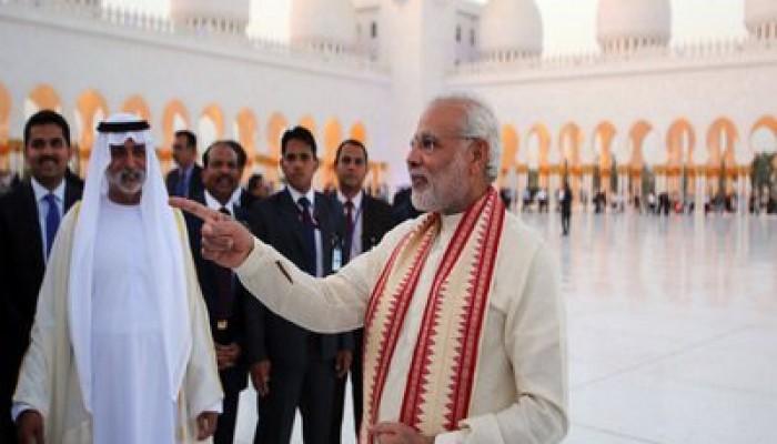 ОАЭ, Индия, иностранные инвестиции