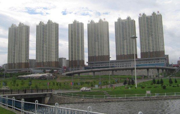 Китай, недвижимость, жилые дома