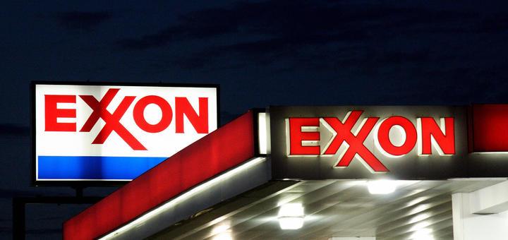 Exxon, расходы, прибыль