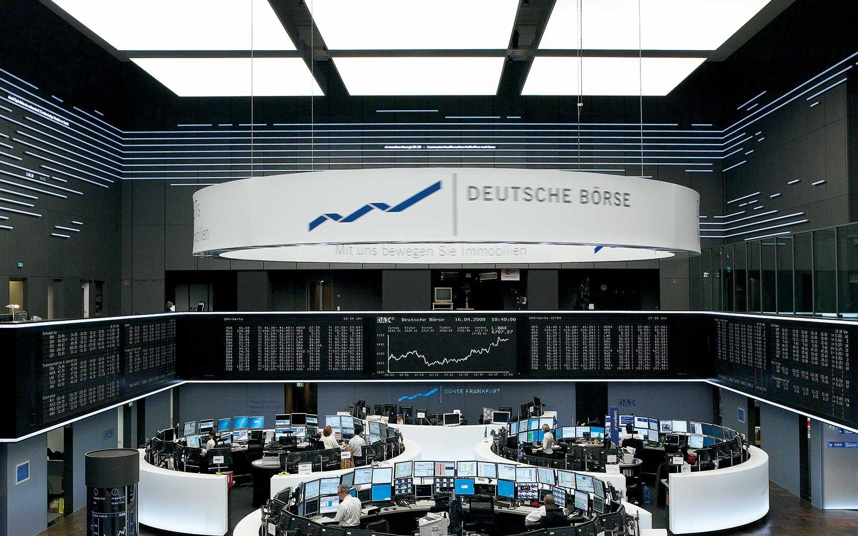 фондовые биржи, LSE, ICE, Deutsche Boerse