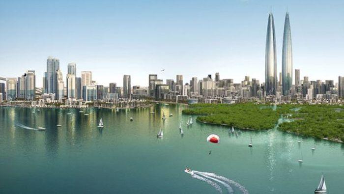 Дубай, зона свободной торговли