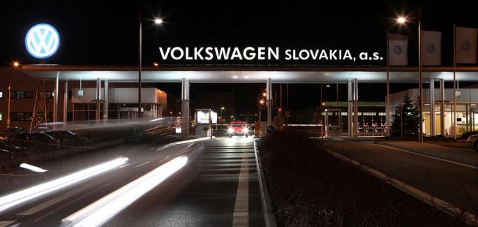 Volkswagen, Словакия