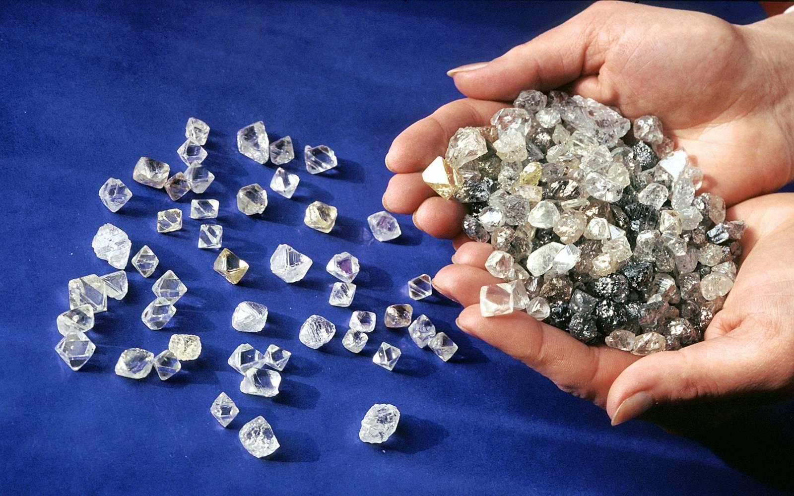 Алроса, алмазы, акции