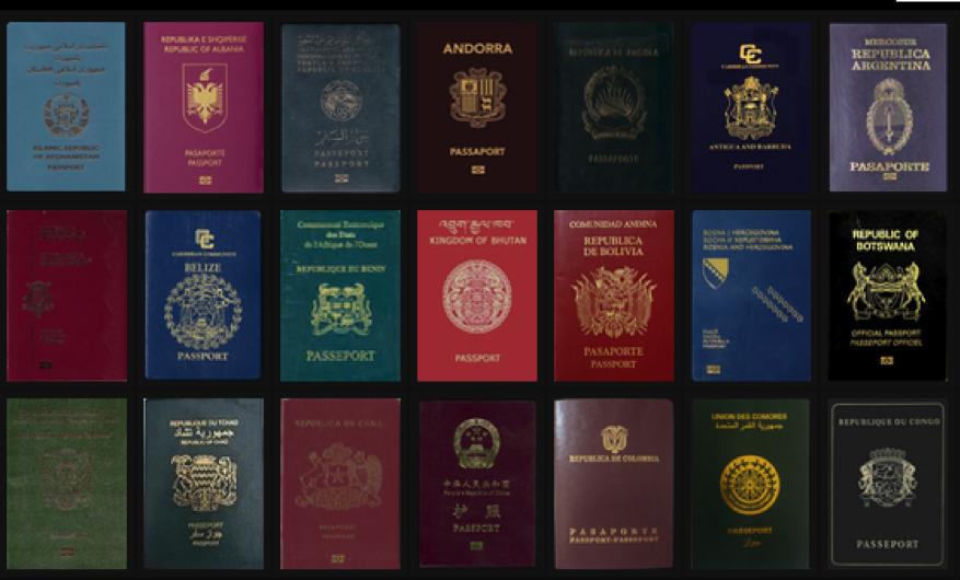 самый лучший паспорт