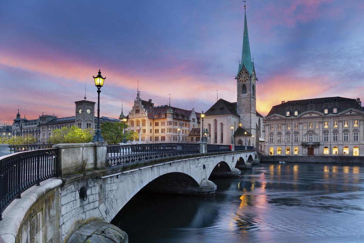 самый дорогой город Европы, Цюрих