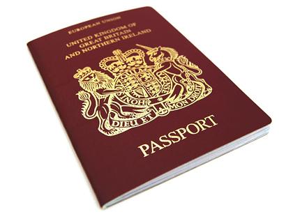паспорт Великобритании