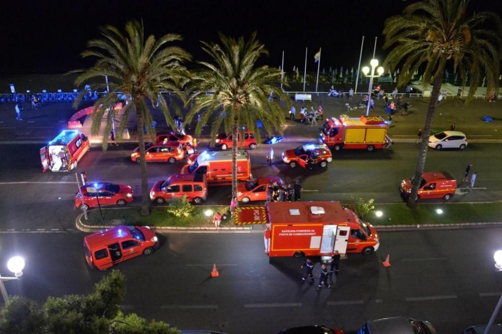 теракт, Ницца, Франция