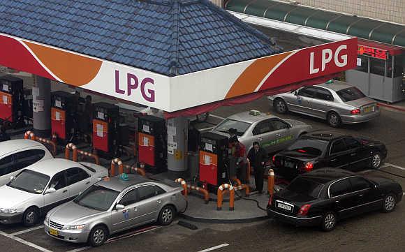 Индия, сжиженный нефтяной газ, LPG