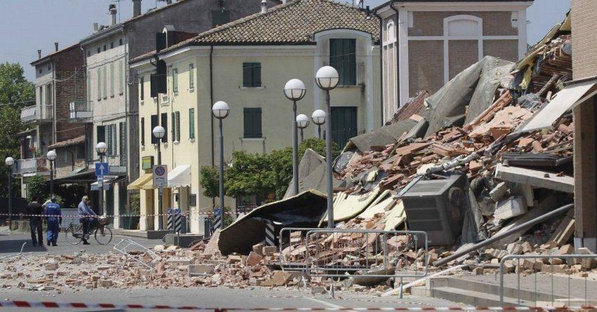 землетрясение в Италии, ущерб, страховые выплаты
