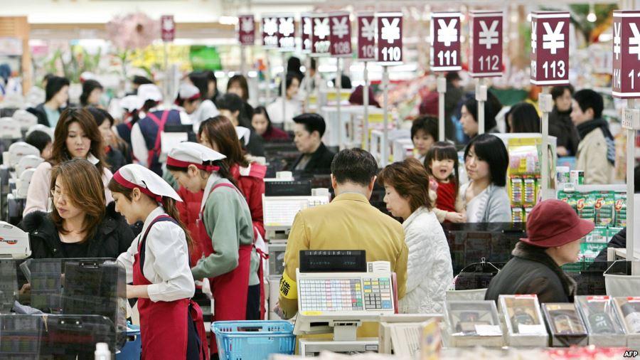 налог на потребление, Япония