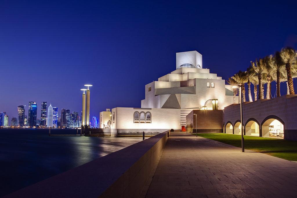 Катар, Доха, проверка