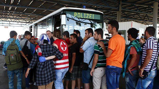 Австрия, нелегальные мигранты