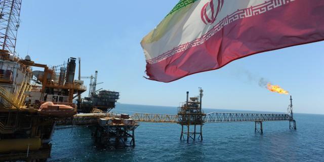 Иран, Shell, добыча нефти