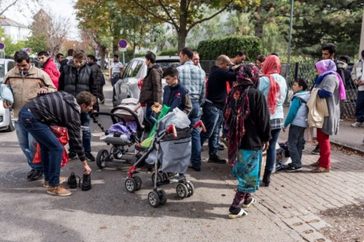 Австрия, Вена, беженцы, Ближний Восток