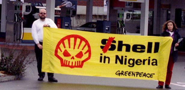 Нигерия, Shell, разливы нефти