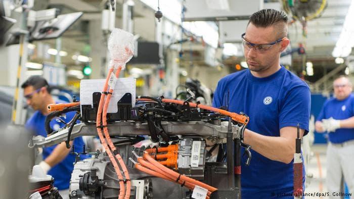 Volkswagen, VW, рабочие места