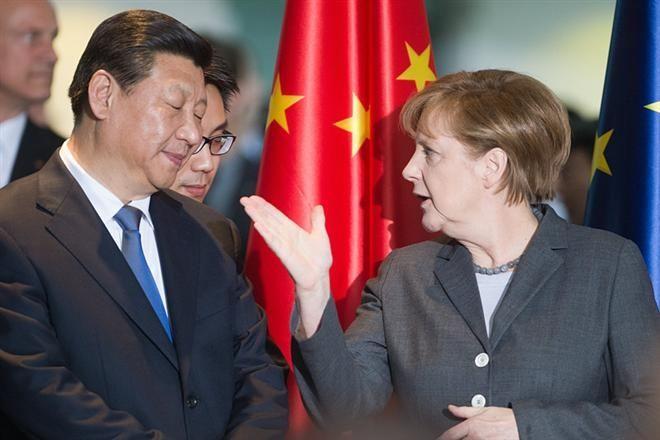 Китай, Германия
