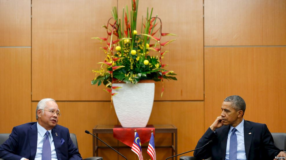 США, Клинтон, Малайзия