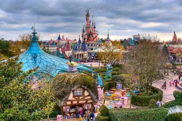 Диснейленд в Гонконге, Диснейленд, Гонконг, Disney, парк развлечений