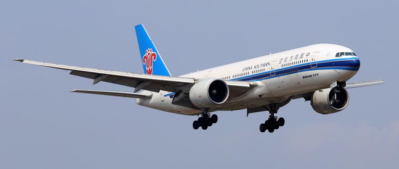 самолет, Китай, Боинг