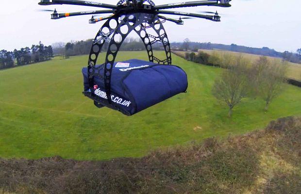 дроны, Domino's, доставка пиццы