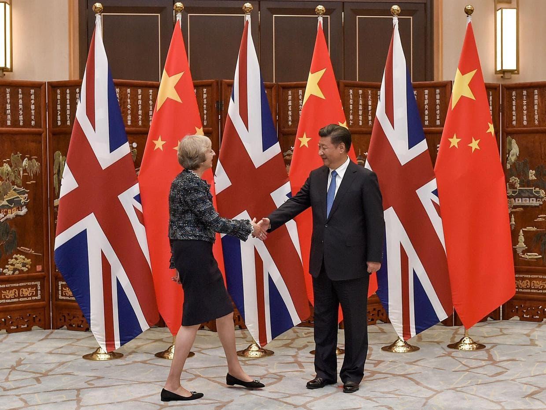сотрудничество, Китай, Великобритания, торговля