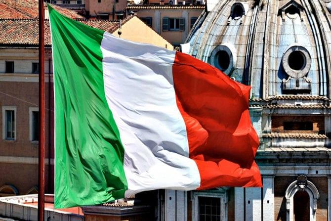 Италия, Sentix, еврозона
