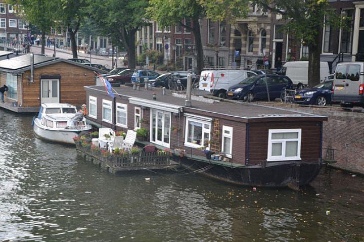 Амстердам, газ, отопление