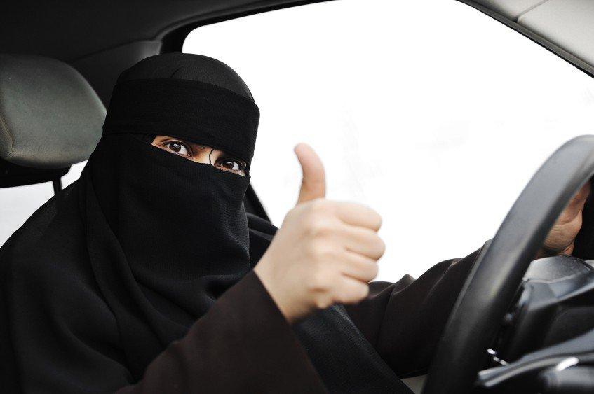 Саудовская Аравия, запрет на вождение