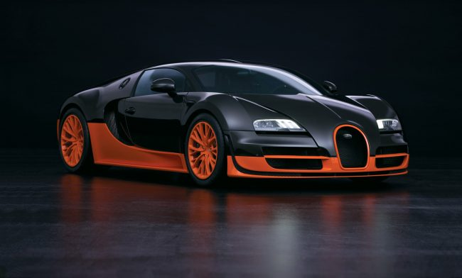Bugatti Veyron Super sports car