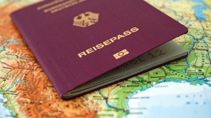 влиятельный паспорт, страна, виза