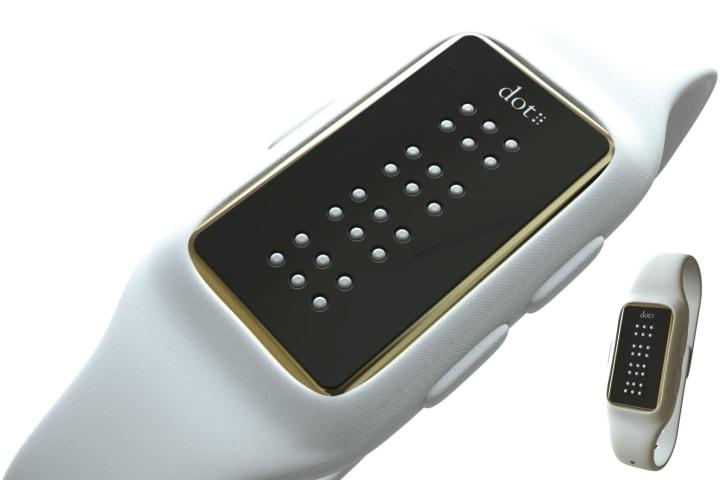 смарт-часы, шрифт Брайля, нарушения зрения, Dot, Dot Watch, Южная Корея