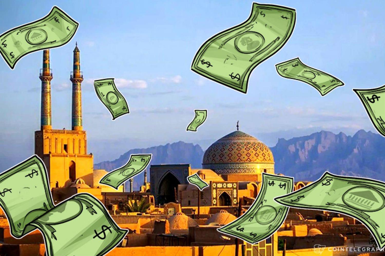 доллар, Иран, биткоин, криптовалюта