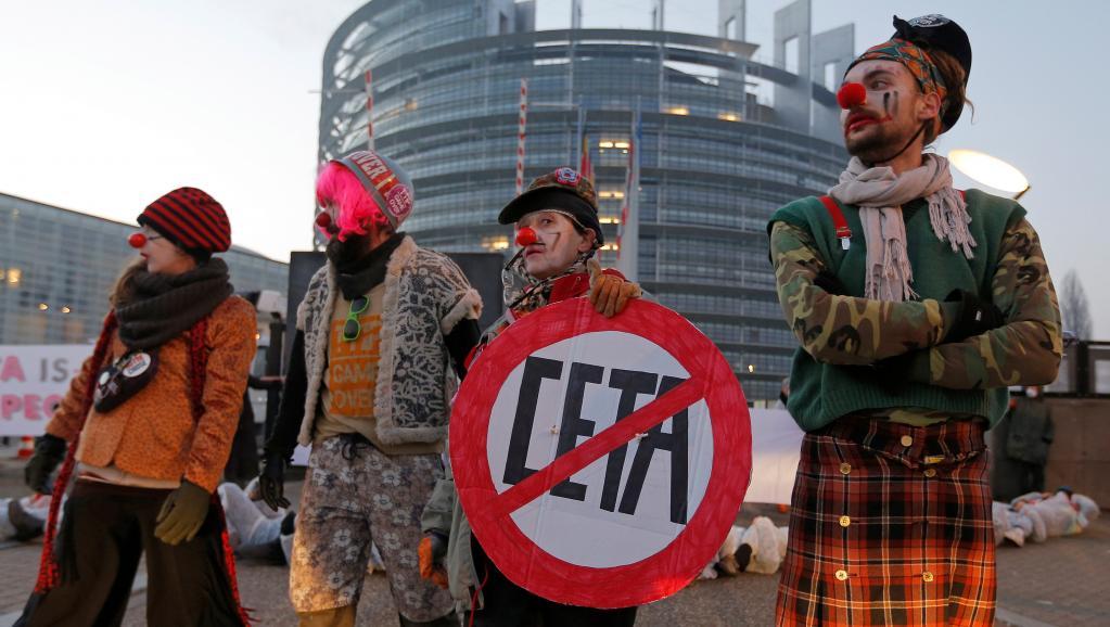 Европарламент, CETA, Канада