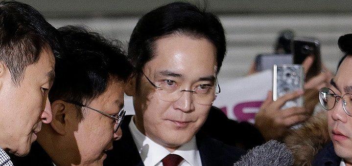 Samsung, арест, Note 7, Южная Корея, скандал