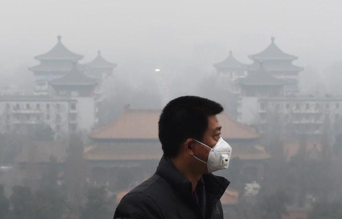 Гонконг, Китай, качество воздуха, загрязнение