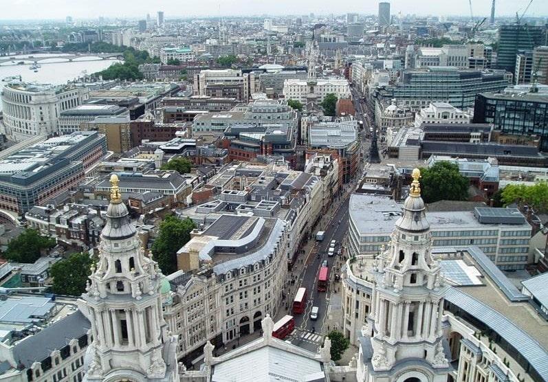 Великобритания, недвижимость в Лондоне, цены на жильё