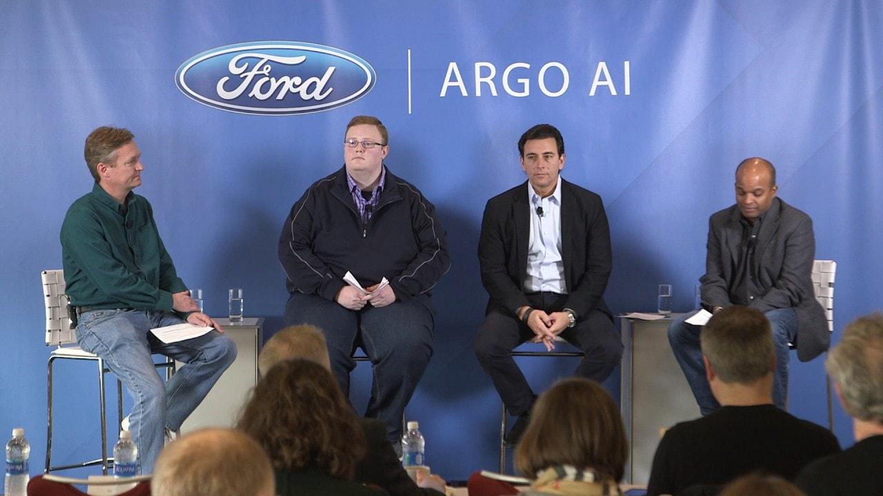 Ford, Argo AI, автомобили с автономным управлением, инвестиции