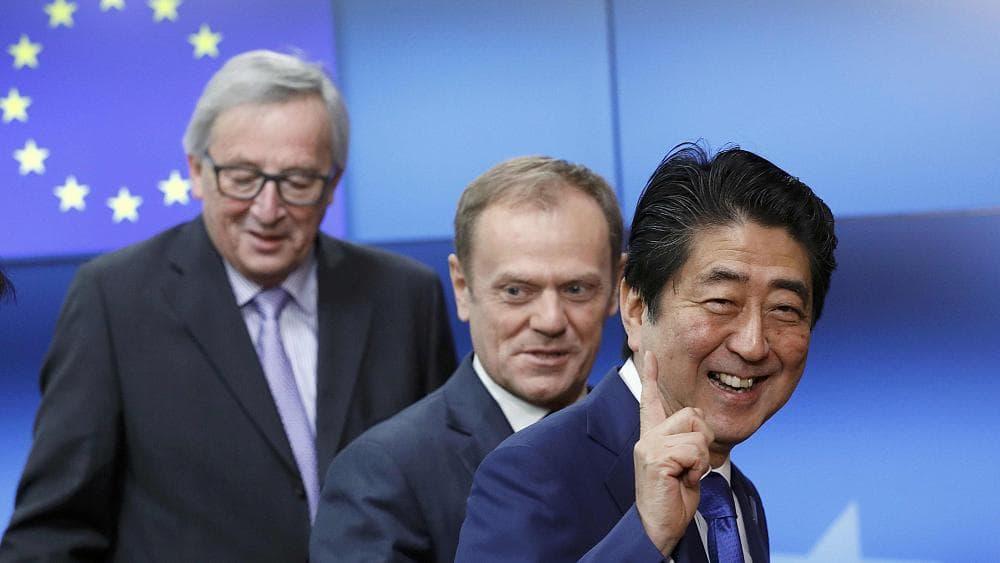 свободная торговля, США, ЕС, Япония, Синдзо Абэ, протекционизм